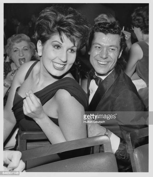 Alma Cogan With Lionel Blair At The Pigalle 1960