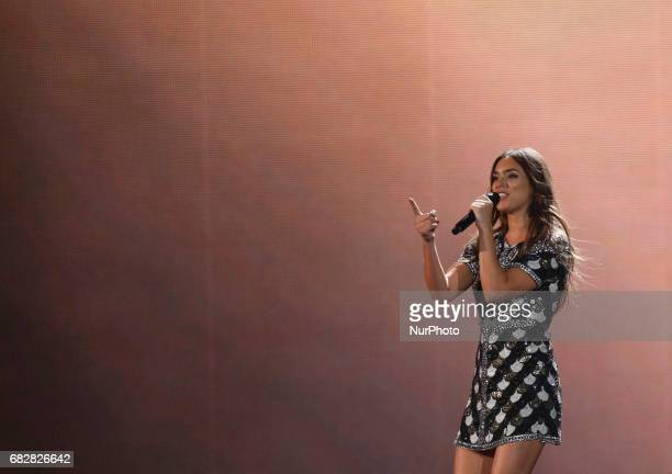 Alma from France performs with the song quotRequiemquotduring the Grand Final of the Eurovision Song Contest in Kiev Ukraine 13 May 2017