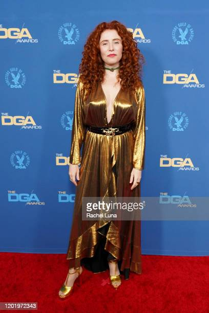 Alma Har'el arrives for the 72nd Annual Directors Guild Of America Awards at The Ritz Carlton on January 25 2020 in Los Angeles California