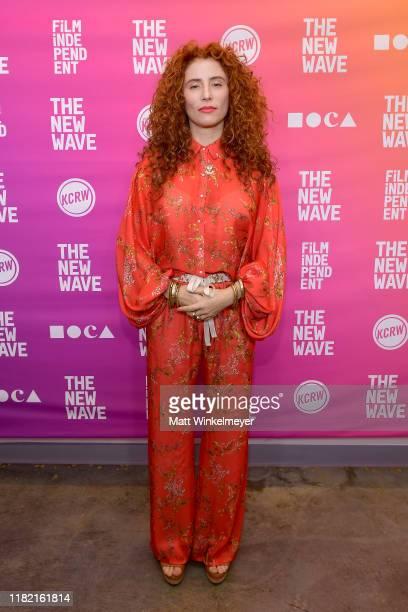 Alma Har'el attends Centerpiece Keynote Alma Har'el during Film Independent's The New Wave at Ahmanson Screening Room on October 19 2019 in Los...