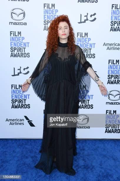 Alma Har'el attends the 2020 Film Independent Spirit Awards on February 08 2020 in Santa Monica California