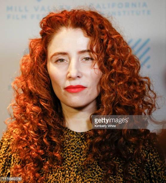Alma Harel attends the 42nd Mill Valley Film Festival Honey Boy Premiere on October 9 2019 in Larksbur California