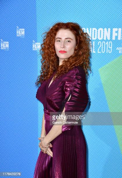 Alma Har'el attends the Honey Boy European Premiere during the 63rd BFI London Film Festival at the Vue West End on October 06 2019 in London England