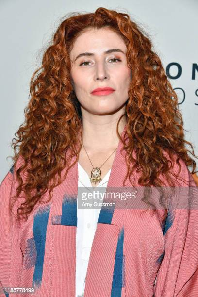 Alma Har'el attends the premiere of Amazon Studios Honey Boy at The Dome at Arclight Hollywood on November 05 2019 in Hollywood California
