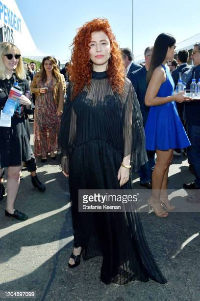 Alma Har'el with FIJI Water and JNSQ at The 2020 Film Independent Spirit Awards on February 08 2020 in Santa Monica California