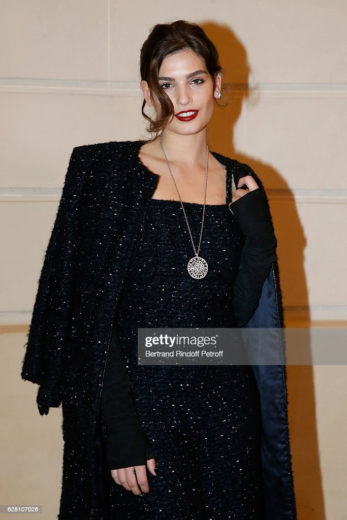 Alma Jodorowsky attends the 'Chanel Collection des Metiers d'Art 2016/17 : Paris Cosmopolite'