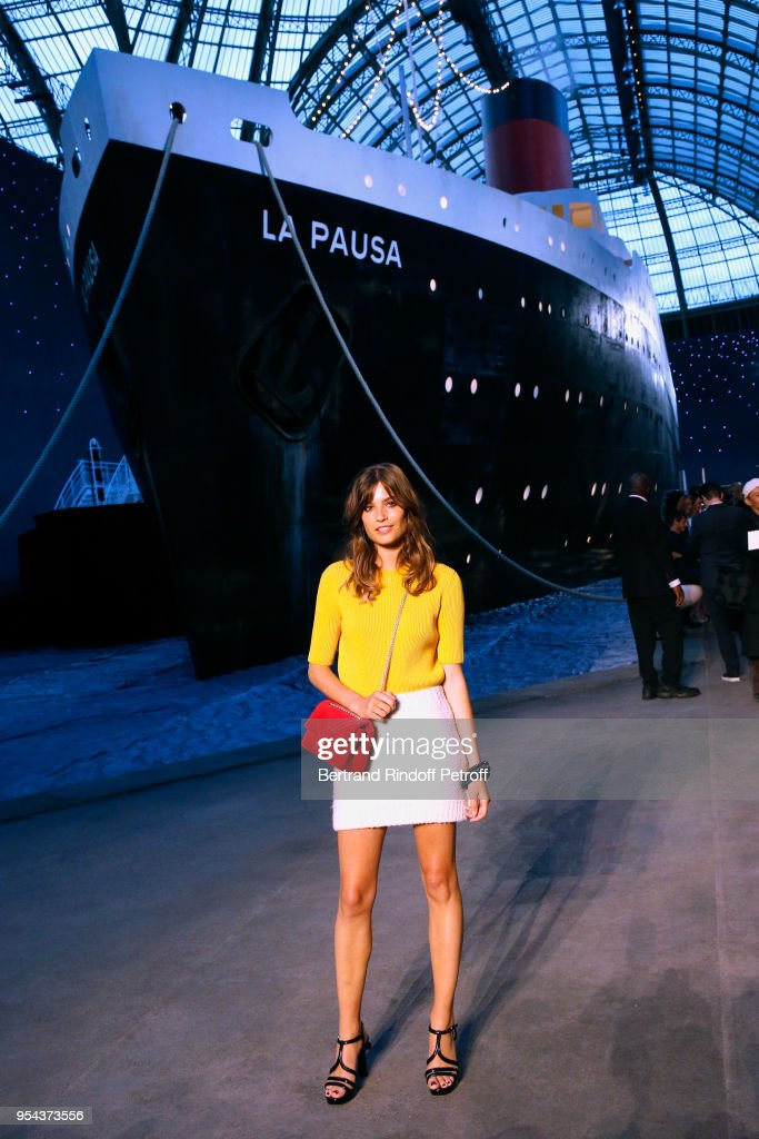 3189816eb2f1 Alma Jodorowsky attends the Chanel Cruise 2018/2019 Collection ...