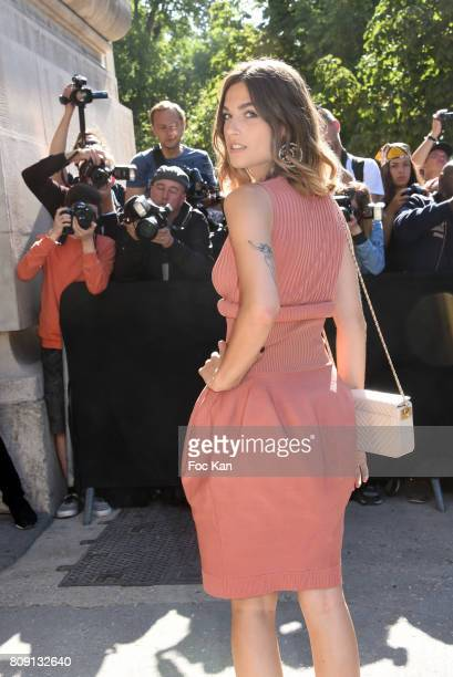 Alma Jodorowsky attends the Chanel Haute Couture Fall/Winter 20172018 show as part of Paris Fashion Week on July 4 2017 in Paris France