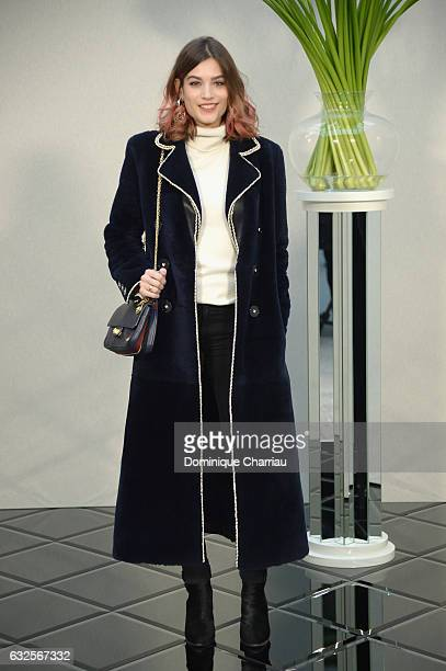 Alma Jodorowsky attends the Chanel Haute Couture Spring Summer 2017 show as part of Paris Fashion Week on January 24 2017 in Paris France