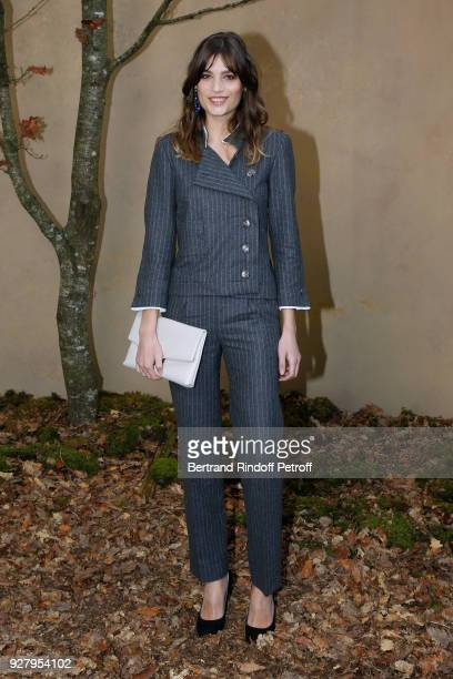 Alma Jodorowsky attends the Chanel show as part of the Paris Fashion Week Womenswear Fall/Winter 2018/2019 on March 6 2018 in Paris France