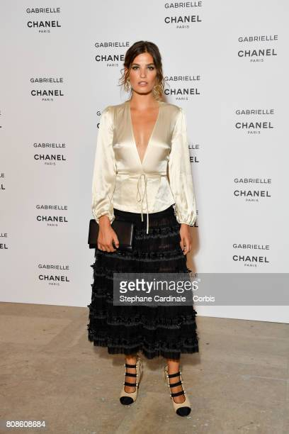 Alma Jodorowsky attends the launch party for Chanel's new perfume 'Gabrielle' as part of Paris Fashion Week on July 4 2017 in Paris France