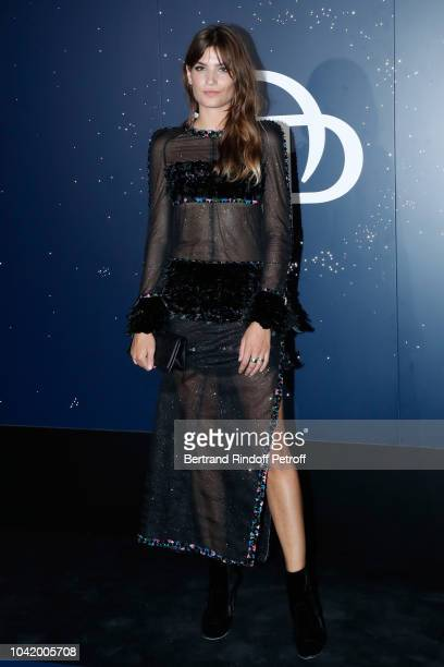 Alma Jodorowsky attends the Opening Season Paris Opera Ballet Gala as part of the Paris Fashion Week Womenswear Spring/Summer 2019 Held at Opera...