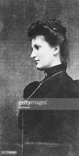Alma Mahler Werfel is pictured here when she was Alma Schindler before her marriages to three world famous men Gustav Mahler Walter Gropius and Franz...