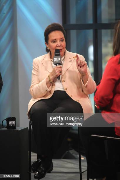 Alma Powell attends Build Series to discuss her newest mission at Build Studio on April 17 2017 in New York City