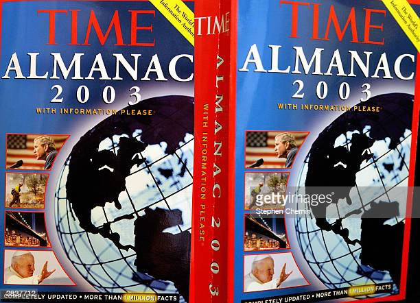 2003 almanacs are seen December 30 2003 in New York City Amid indications that AlQaeda operatives may be planning more terror attacks in the United...