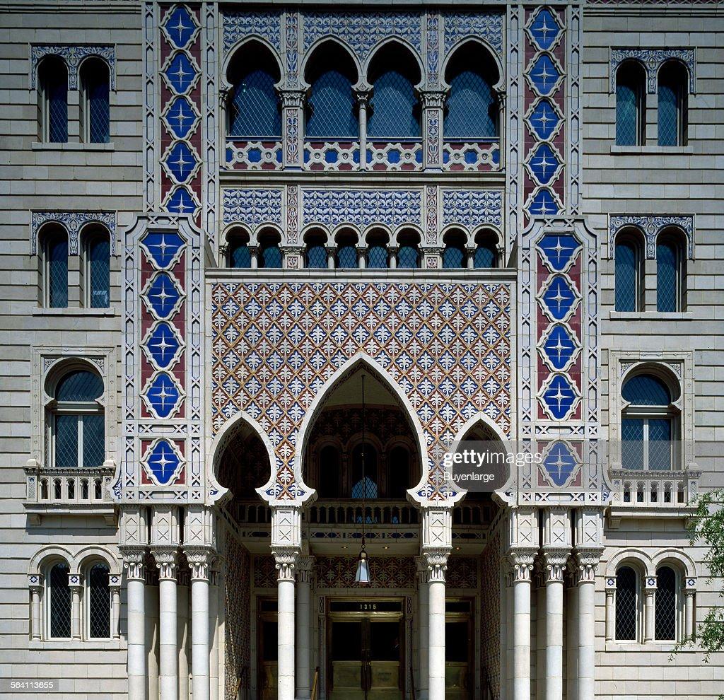 Almas Masonic temple, Washington, D C  News Photo - Getty Images