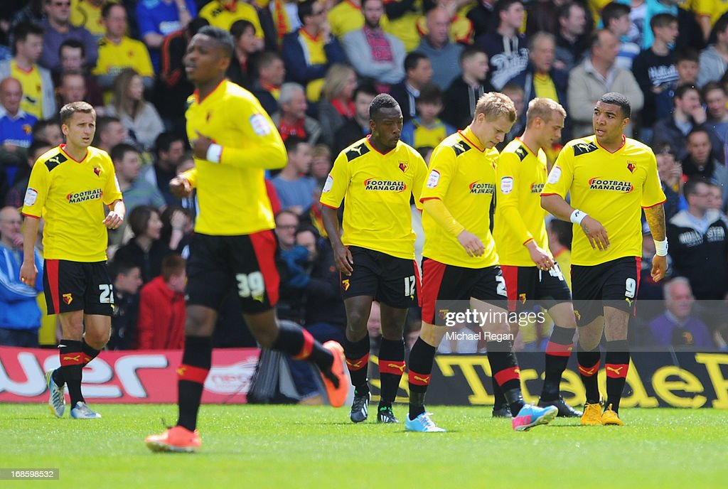 Watford v Leicester City - npower Championship Play Off Semi Final: Second Leg : News Photo