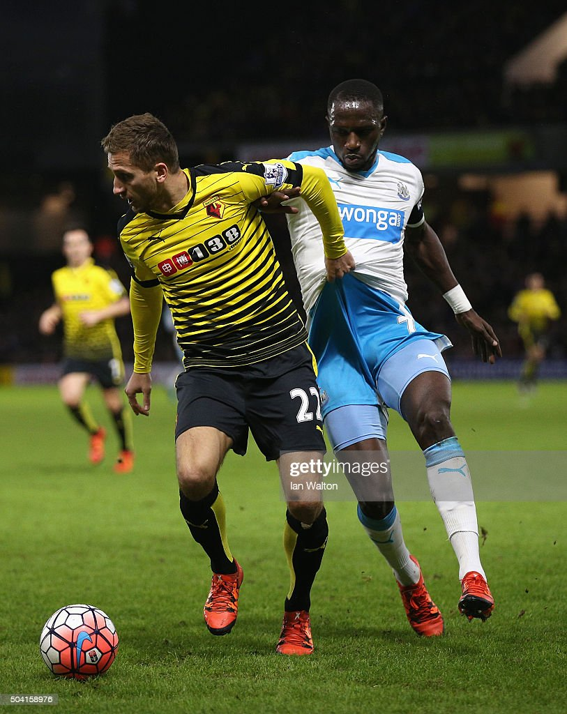 Watford v Newcastle United - The Emirates FA Cup Third Round : News Photo
