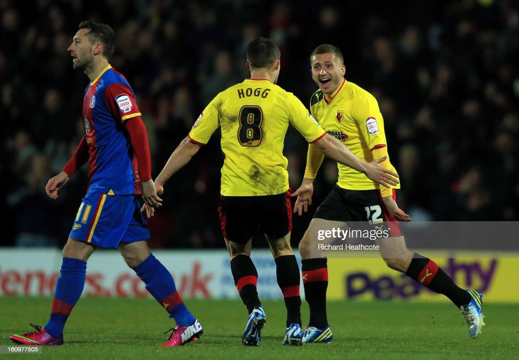 Watford v Crystal Palace - npower Championship