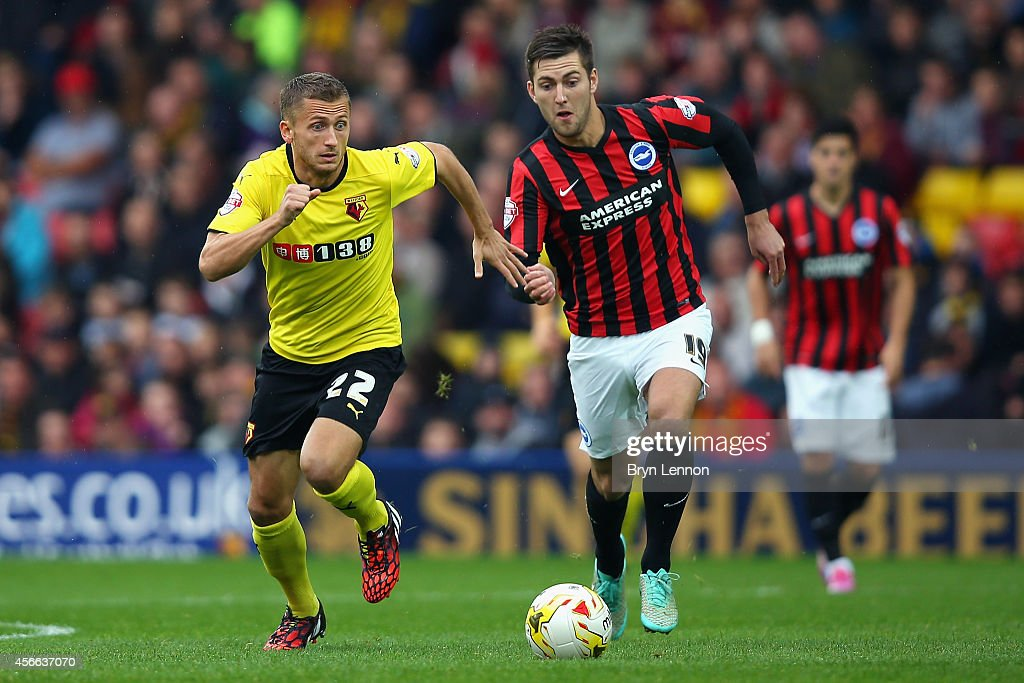 Watford v Brighton & Hove Albion - Sky Bet Championship : News Photo