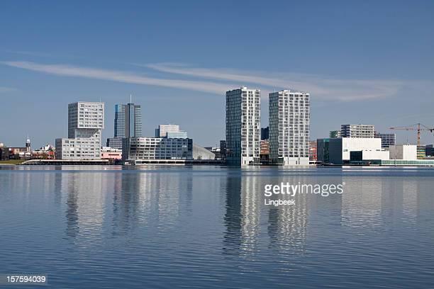 Almere, The Netherlands Skyline