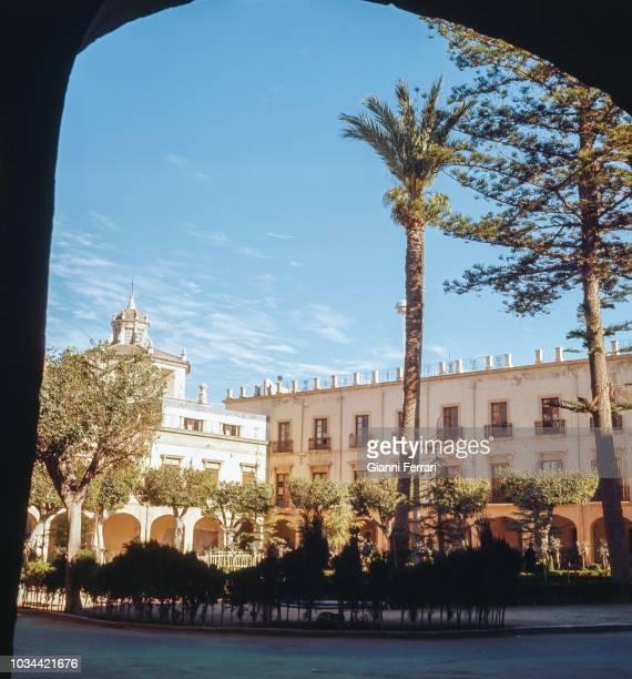 """Almeria the """"Plaza Vieja"""" Andalucia Spain"""