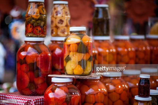 Almibar fruits or fruits in syrup