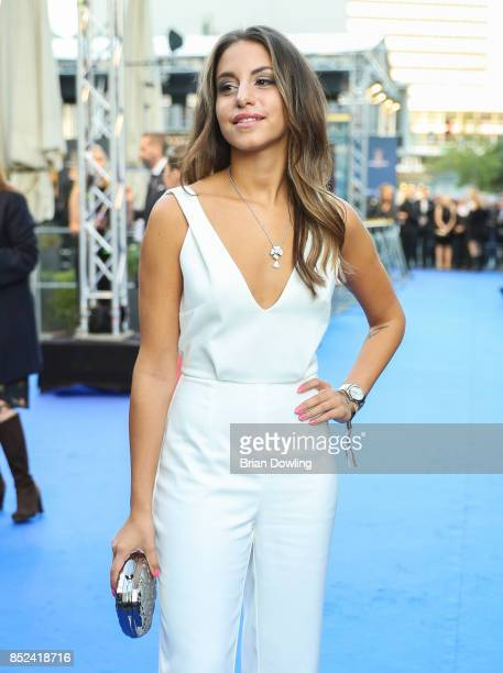 Almila Bagriacik arrives at the 6th German Actor Award Ceremony at Zoo Palast on September 22 2017