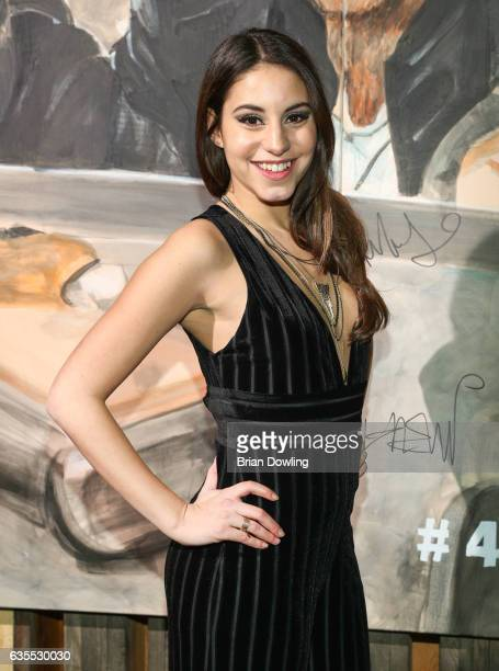Almila Bagriacik attends the after show party of '4 Blocks' screening at Prinz Charles Club Berlin on February 15 2017 in Berlin Germany The drama...