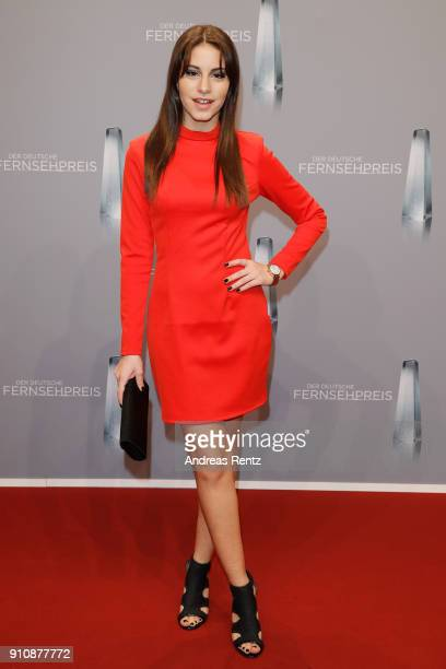 Almila Bagriacik attends the German Television Award at Palladium on January 26 2018 in Cologne Germany
