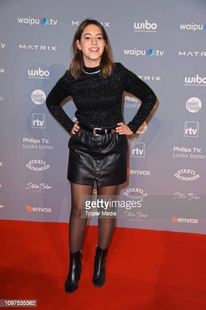 Almila Bagriacik attends the Movie Meets Media party during 69th Berlinale International Film Festival at Hotel Adlon on February 10 2019 in Berlin...