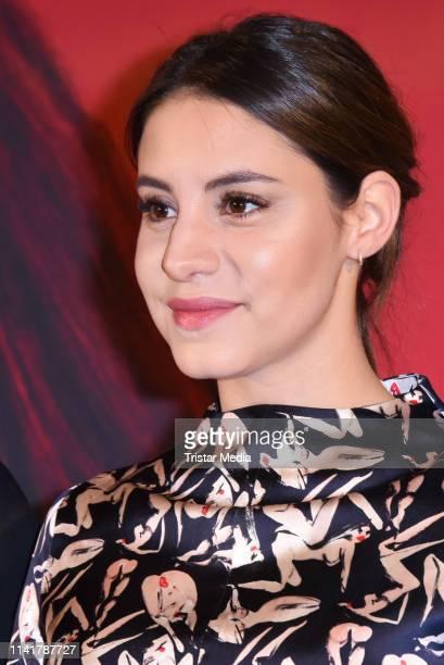 Almila Bagriacik attends the 'Nur eine Frau' premiere at Kino International movie theater on May 6, 2019 in Berlin, Germany.
