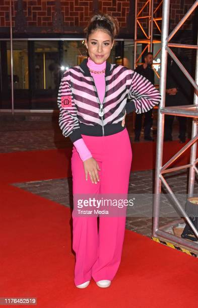 Almila Bagriacik attends the release party of Shirin David's debut album Supersize at eWerk on September 20 2019 in Berlin Germany