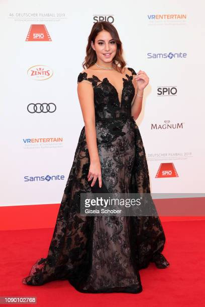 Almila Bagriacik during the 46th German Film Ball at Hotel Bayerischer Hof on January 26 2019 in Munich Germany