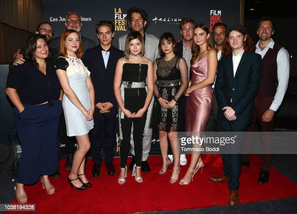 Almitra Corey Brendan Walsh actor Haley Ramm cinematographer Darin Moran actor Dylan Sprouse director Benjamin Kasulke actress Addison Riecke...