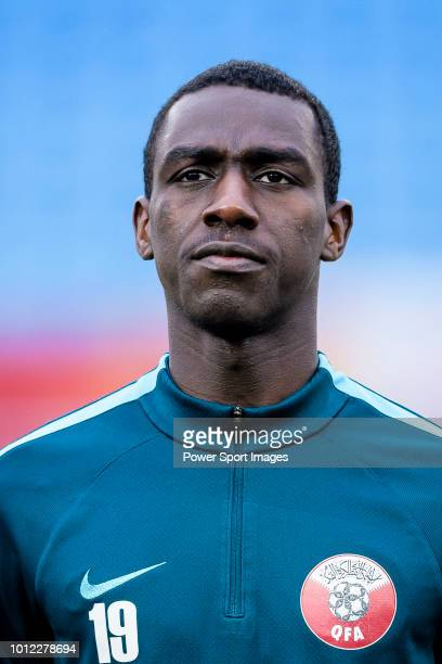 Almoez Ali of Qatar during the AFC U23 Championship China 2018 Semi Finals match between Qatar and Vietnam at Changzhou Olympic Sports Center on 23...