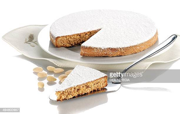 Almond and carrot cake