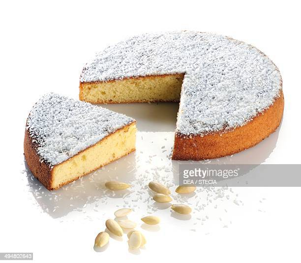 Almond and coconut cake