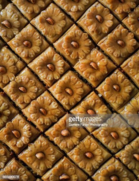 almond pastry - padrão de losangos - fotografias e filmes do acervo