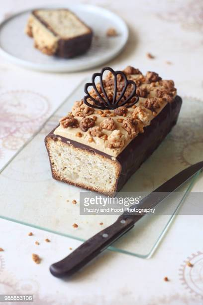 Almond Pear Loaf Cak