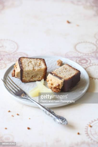 Almond Pear Loaf Cake