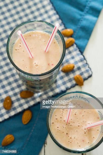 Almond smoothies