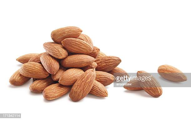 almonds - raw food stock pictures, royalty-free photos & images