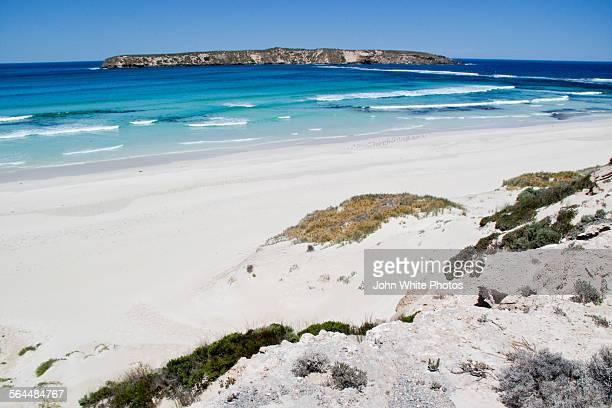 almonta beach. south australia. - porto lincoln - fotografias e filmes do acervo
