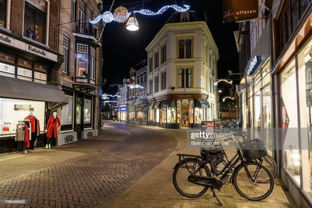 Netherlands Goes Into Partial Lockdown : News Photo