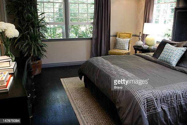 LEWIS 'Almost Perfect' Episode 101 Pictured Master bedroom after renovation