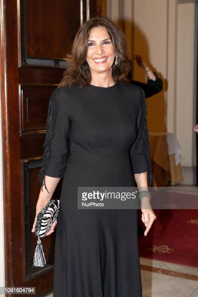 Almudena Alberca attends the 10th 'MujerHoy' awards at 'Casino de Madrid' on January 30 2019 in Madrid Spain