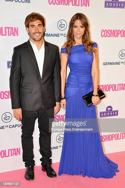 Almudena Fernandez attends Cosmopolitan Fun Fearless Awards 2012 at Ritz Hotel on October 22 2012 in Madrid Spain
