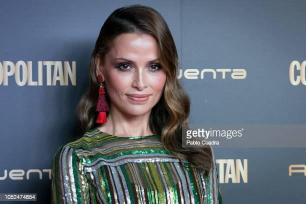 Almudena Fernandez attends the Cosmopolitan Awards 2018 at Florida Park on October 18 2018 in Madrid Spain
