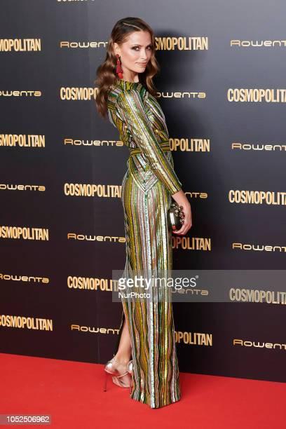 Almudena Fernandez attends the Cosmopolitan Magazine Awards 2018 Photocall at 'Florida Retiro' in Madrid on October 18 2018